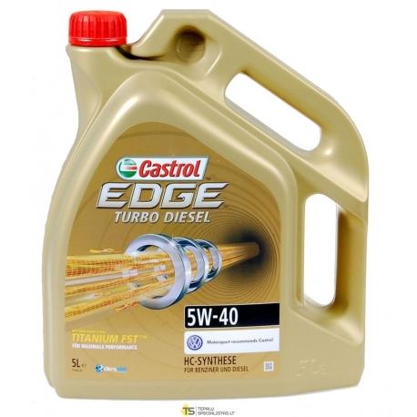 CASTROL 5W-40 EDGE TD TITANIUM 5L