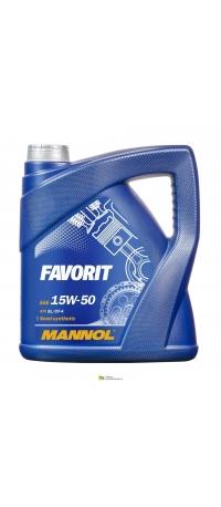 MANNOL 15W-50 FAVORIT 5L