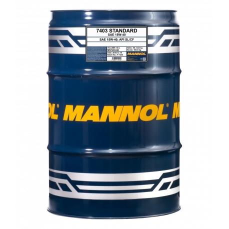 MANNOL 15W-40 STANDARD 60L