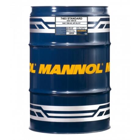 MANNOL 15W-40 STANDARD 208L