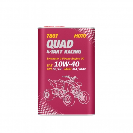 MANNOL 10W-40 QUAD 4-TAKT RACING 1L