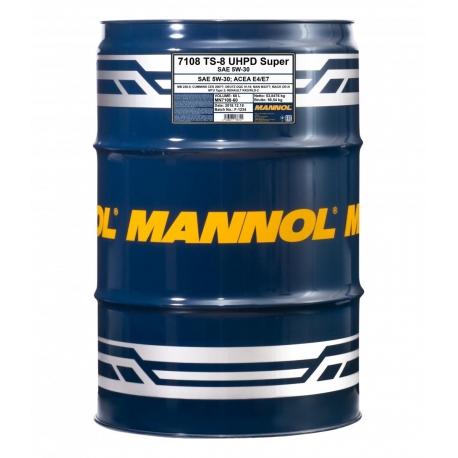 MANNOL 5W-30 TS-8 UHPD SUPER 60L