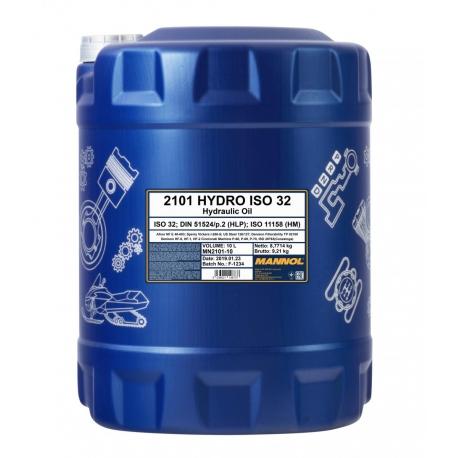 MANNOL HYDRO ISO 32 10L