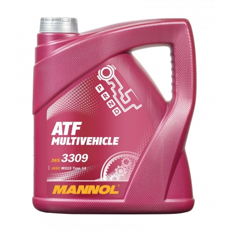 MANNOL ATF MULTIVEHICLE 4L