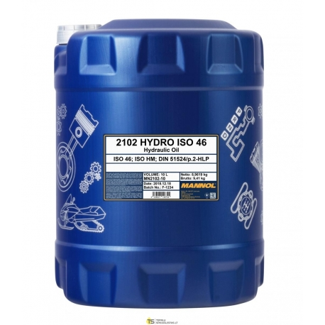 MANNOL HYDRO ISO 46 10L