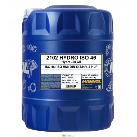 MANNOL HYDRO ISO 46 20L