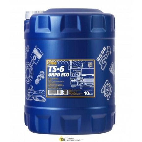 TEPALAS MANNOL TS-6 UHPD Eco 10L
