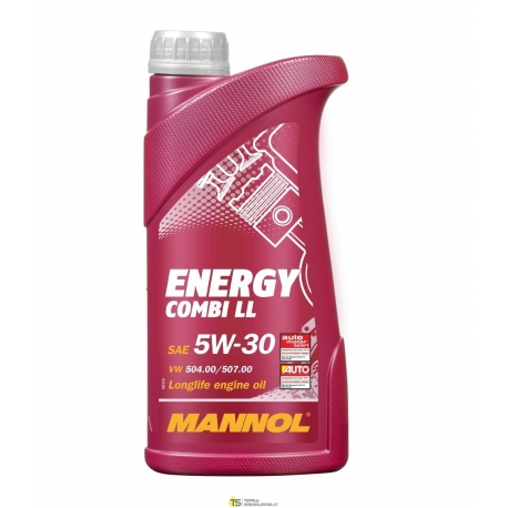 TEPALAS MANNOL 5W-30 ENERGY COMBI LL 1L
