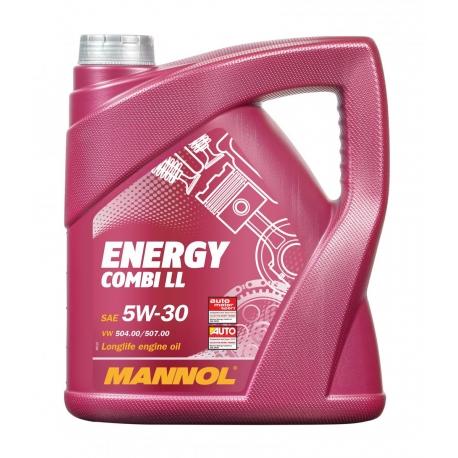 MANNOL 5W-30 ENERGY COMBI LL 4L