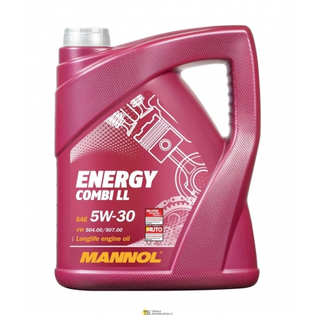 MANNOL 5W-30 ENERGY COMBI LL 5L