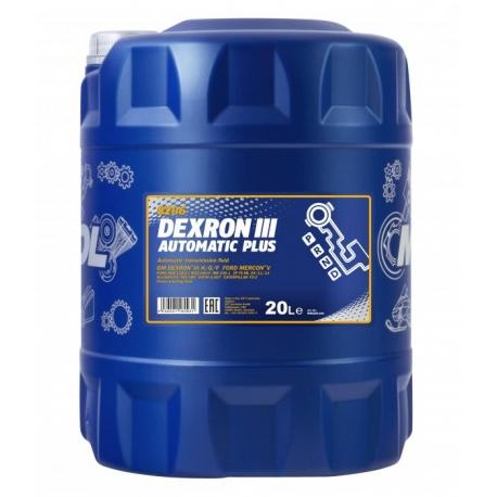 MANNOL DEXRON III 20L