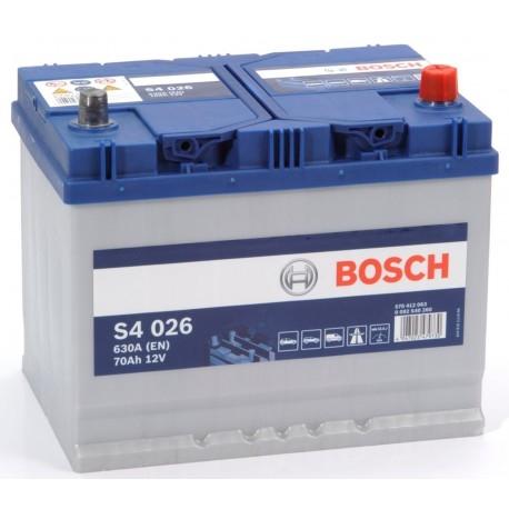 BOSCH S4026 70AH 630A