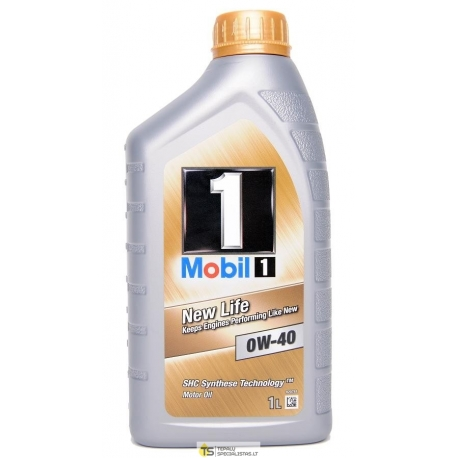 MOBIL1 0W-40 NEW LIFE 1L